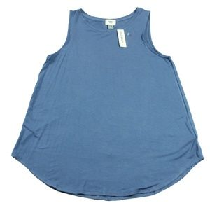 Ladies Tank Top Old Navy Size L Blue